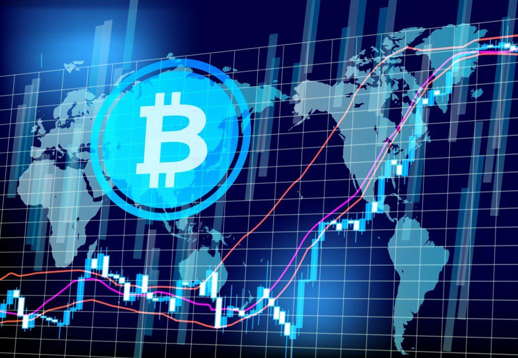 仮想通貨とマーケットグラフ
